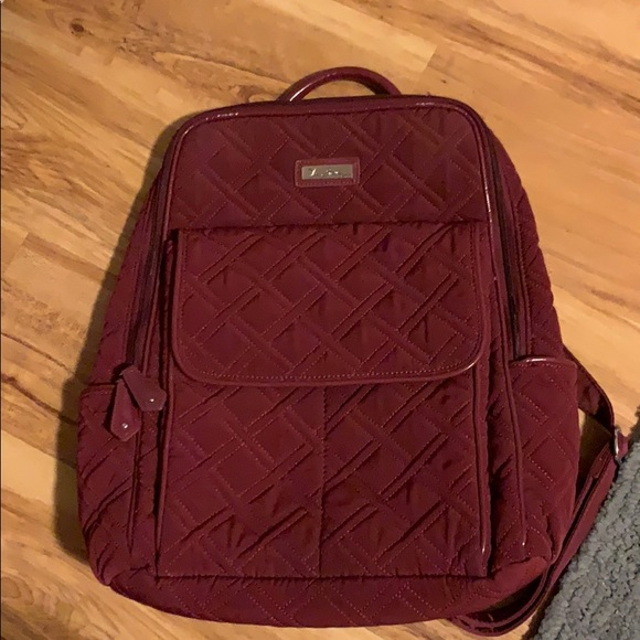 Vera Bradley quilted backpack
